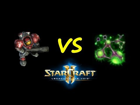 StarCraft II: Unit Battles - Marines VS Roach Rapid Regeneration