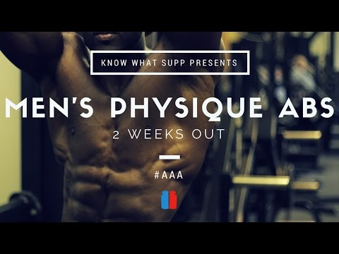 Six Pack Abs | Road to the Arnold Classic Men's Physique | Gabriel Sey