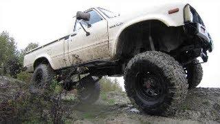 1981 Toyota Pickup 4X4 (5 inch Marlin Crawler lift)