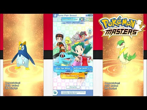 EVOLUSI & GACHA GEM GRATISAN - Pokemon Masters (Android) - Indonesia - 동영상