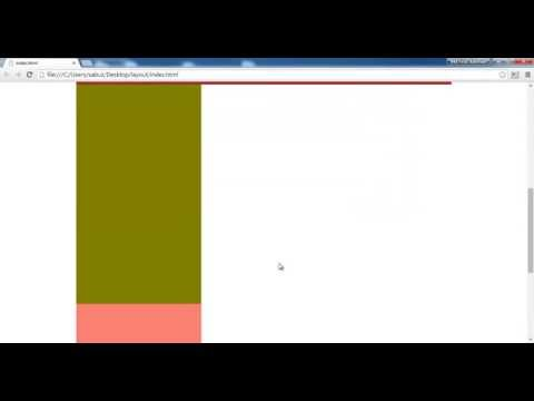 How To Make A Html And Css Basic Layout Bangla Tutorial