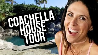 EPIC COACHELLA HOUSE TOUR!! (Lunchy Break)