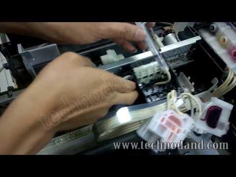 Cara Reset Printer Epson L3110 Lampu Berkedip Bersamaan.