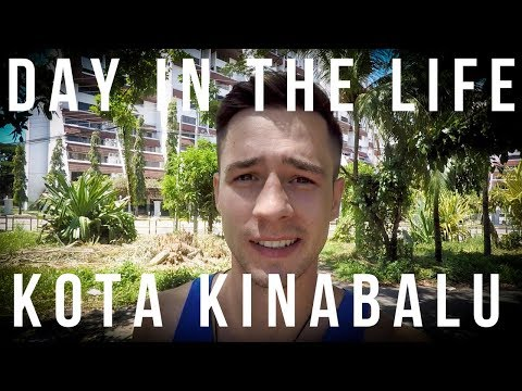 Day in My Life as Digital Nomad | Kota Kinabalu, Borneo, Malaysia