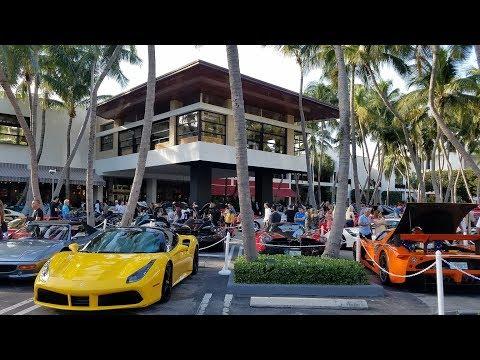 2018 Collectors Weekend  Super Car Show At Bal Harbour Shops / Miami Florida