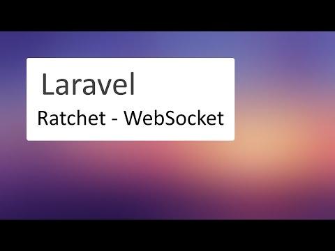 #1 Laravel: Ratchet - WebSocket. Учимся работать с сокетами