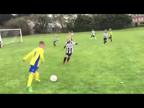 Dad Pushes Goalkeeper Kid