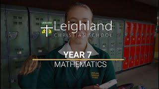 Year 7 - Mathematics