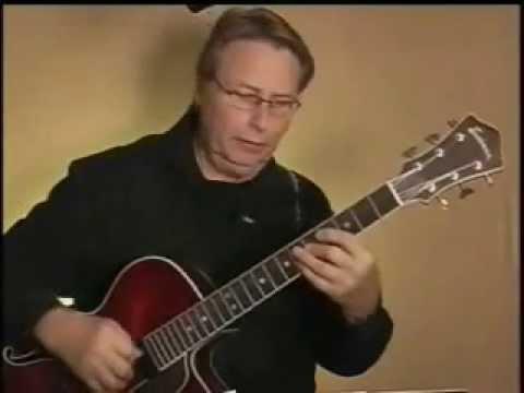 O Christmas Tree Charlie Brown -  Jazz Guitar - Lesson Demo