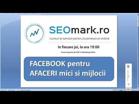 Facebook pentru afaceri mici si mijlocii - top sfaturi