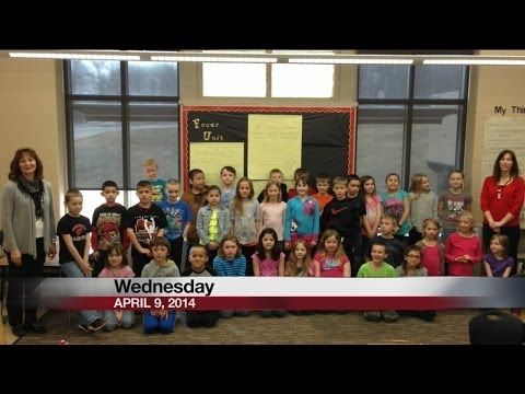 Hillcrest Primary School 2nd Graders say Good Day Wisconsin