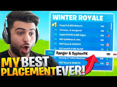 We *DOMINATED* The WINTER ROYALE!! ($20 000 000+ Tournament!) - Fortnite Battle Royale