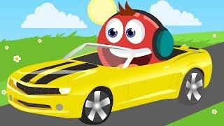 O CARRO DA BOLINHA VERMELHA !! - Red Ball