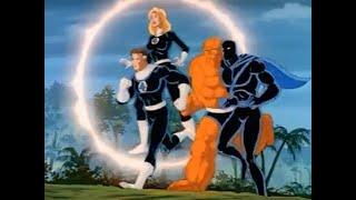 Marvel: Fantastic Four (1994) - Fantastic Four and Black Panther Team Up