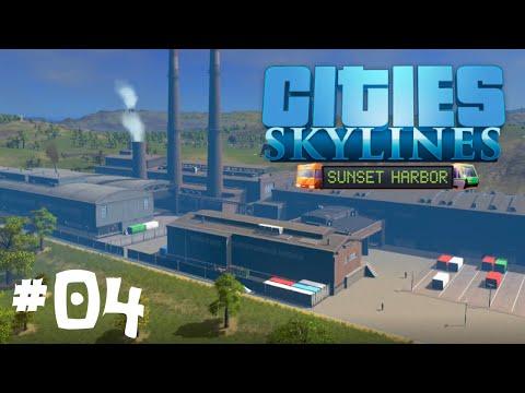 Movin It! - EP04 - Cities Skylines Sunset Harbor DLC |