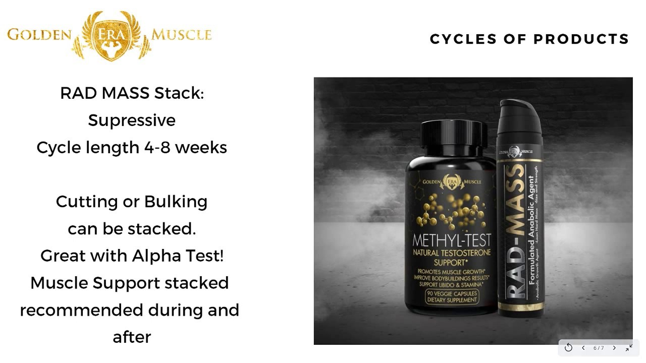 Golden Era Muscle - Products Cycle Discussion