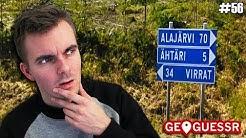 Missä mää oon? - Osa 56 | Uuden Suomi-kartan pelaaminen jatkuu! (GeoGuessr)