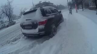Снегопад Начался Весной в Киеве, Дарница Под Снегом