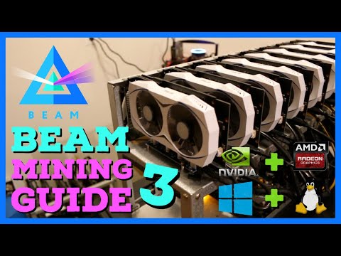 How To Mine BEAM - Beamhash III UPDATE - High GPU Mining PROFITS!