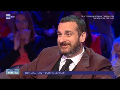 """Costantino della Gherardesca: """"I miei primi 40 anni"""" - La Vita in Diretta 13/09/2017"""