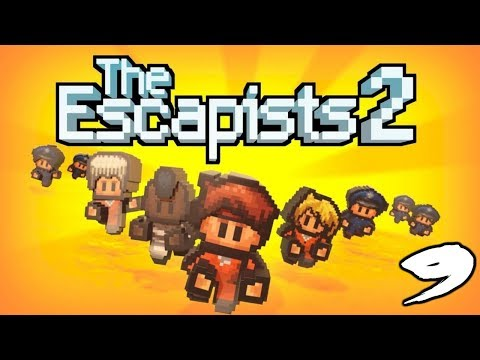The FGN Crew Plays: The Escapists 2 #9 - It's Dirty Work (PC)