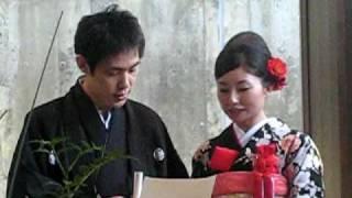 Yoshimasa and Madori wedding
