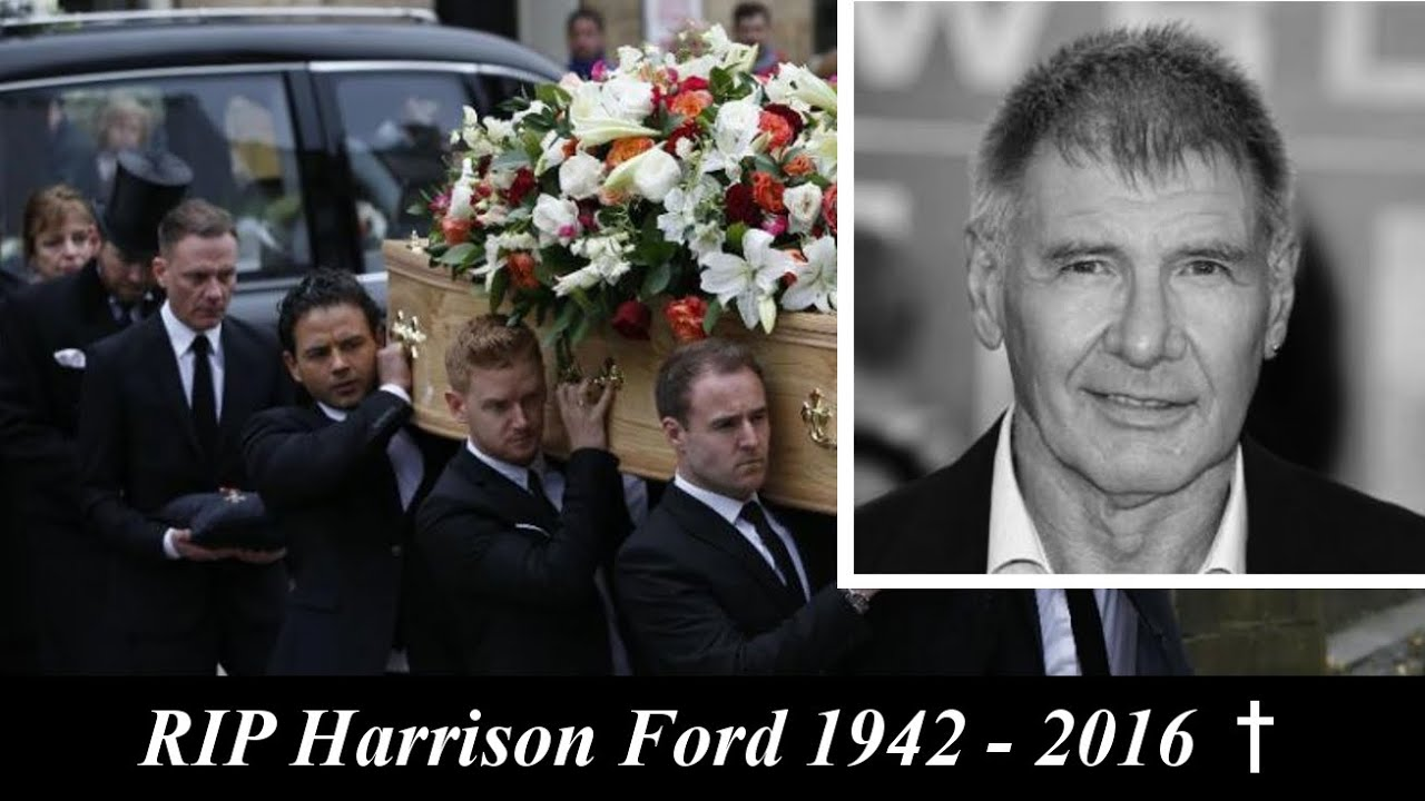Harrison Ford Dead At Age 73 Funeral Ceremony Animation