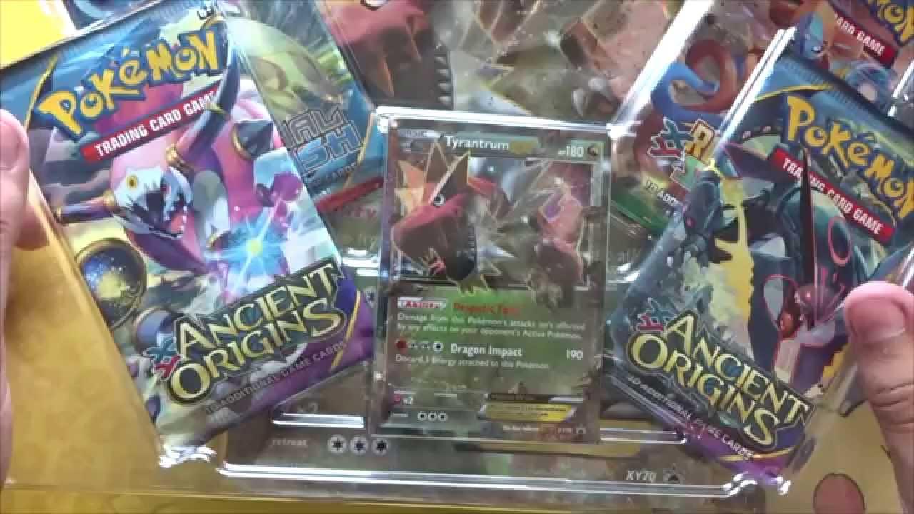 Pokemon Tcg Tyrantrum Ex Box Opening