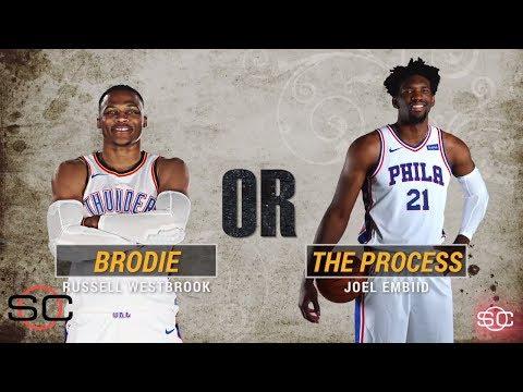 NBA's most interesting man: Russell Westbrook or Joel Embiid? | SportsCenter | ESPN