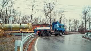 Модернизация Иркутской ГЭС En+ - доставка вала для нового гидроагрегата