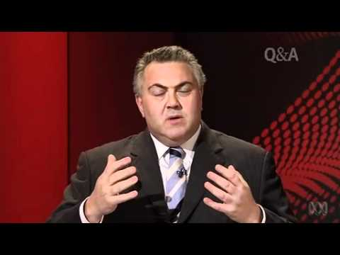 Penny Wong v Joe Hockey over Gay Marriage on Q and A (14--05-2012)
