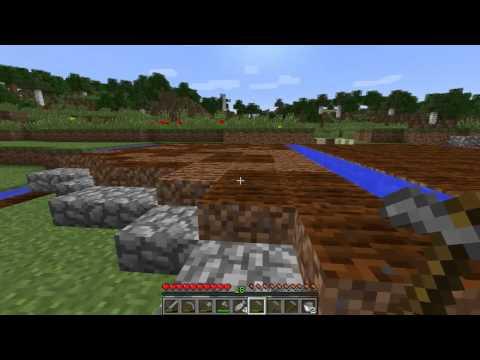 Evan's World Ep 3 - Building The Farm [Minecraft Survival]