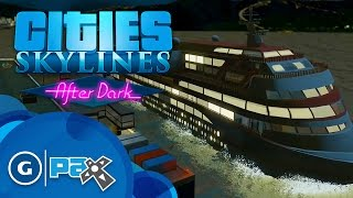 Cities Skylines: After Dark - In-Game Trailer - PAX Prime 2015