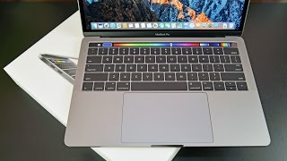 "Apple MacBook Pro 13"" (Touch Bar): Unboxing & Review"