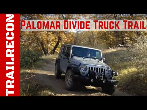 Palomar Divide Truck Trail -Off-Road Adventure