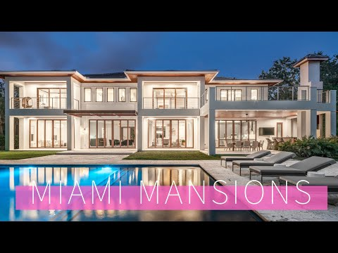 Miami Florida Mansion Tour INSIDE Top Architecture And Design Homes
