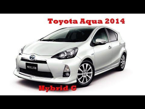 Тойота Аква Гибрид 2014 года / Младший брат Приуса?