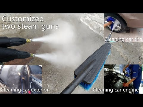 Cumond mobile electric steam cleaner machine,Steam car washing machine