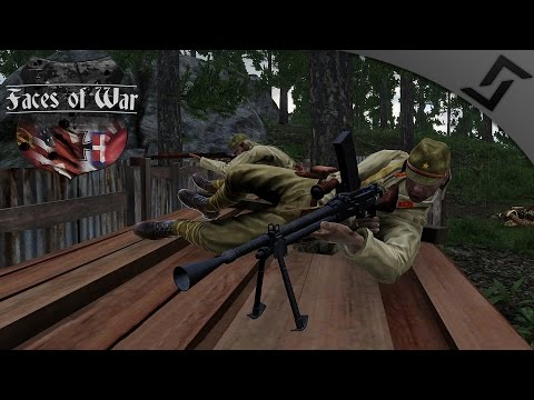 Invading Singapore w/ Type 99 MG - ARMA 3 Faces of War WW2 Mod - Japanese Naval Invasion