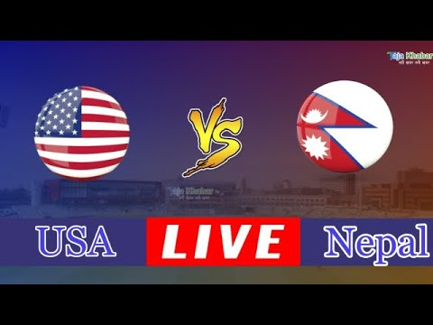 NEPAL VS USA LIVE STREAMING|| ICC WORLD CUP LEAGUE 2