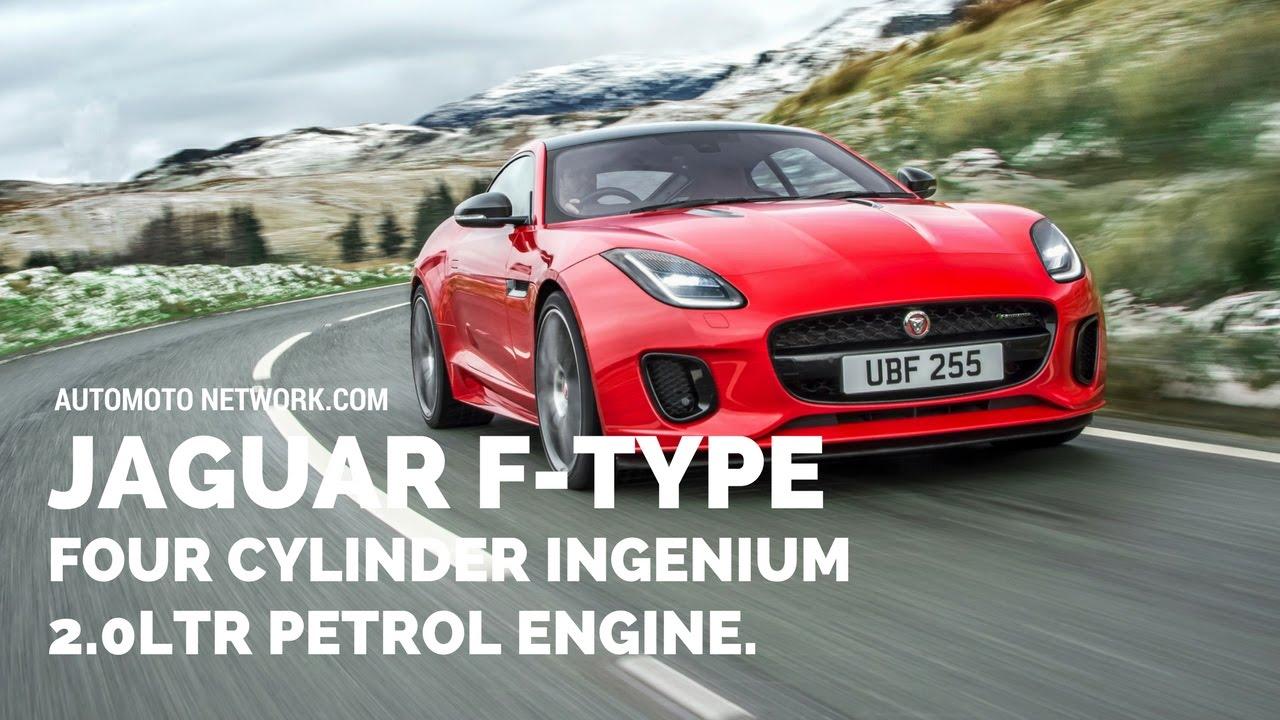 2018 Jaguar F TYPE 4 Cyclinder | Jaguaru0027s All Aluminium Two Seat Sports Car.