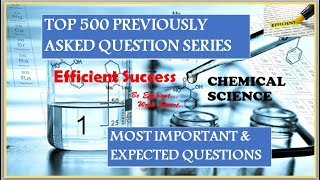 Top 500 questions series//Chemical Science//Part 1//RRB GROUP-D//ALP//NTPC//CGL //CHSL//MTS//CPO//
