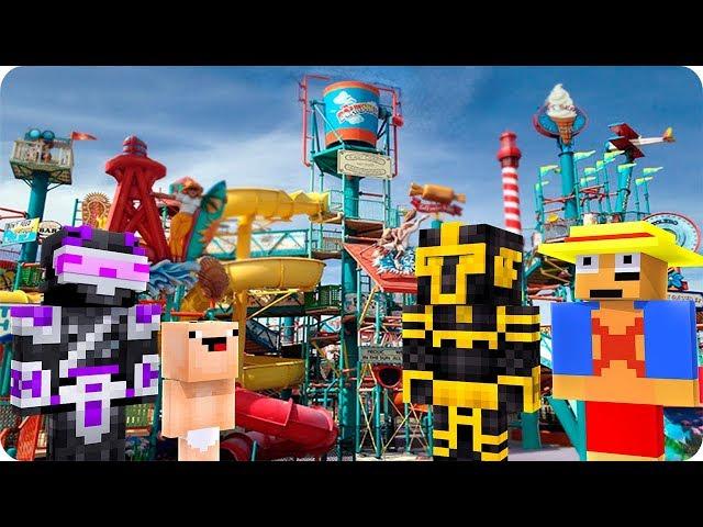 Massi Va Al Mejor Parque De Atracciones De Mini World En Minecraft