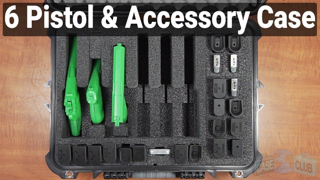 6 Pistol & Accessory Case - Video