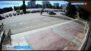 В Башкирии мужчина инсценировал самосожжение перед зданием мэрии