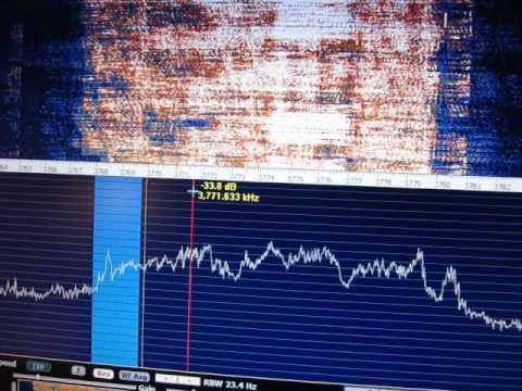 Navassa Island K1N at 3725 kHz 13.2.2015 abt 4:30 UTC
