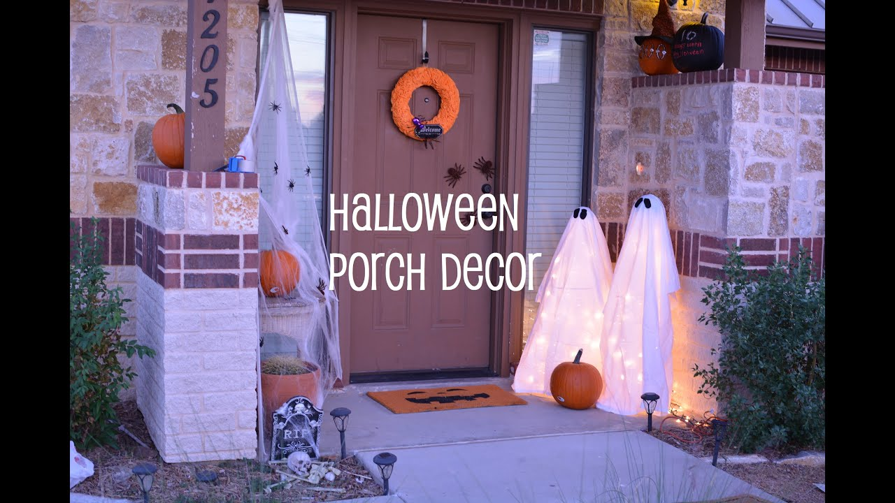 diy: halloween porch decor | randumbkay - youtube