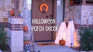 DIY: Halloween Porch Decor | RanDumbKay