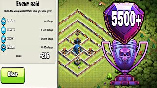 TH12 STRONG DEFENSIVE LEGEND BASE WITH REPLAYS | TH12 TROPHY BASE FOR LEGEND LEAGUE -Clash of clans