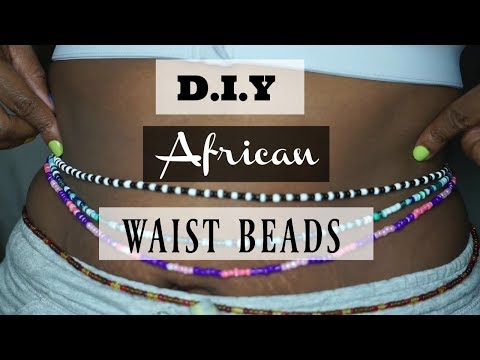 diy-african-waist-beads-tutorial-|-for-weight-loss-measurement